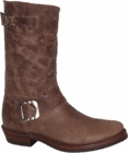 """Star Boot Tobacco Engineer Boots 10"""" W8521"""
