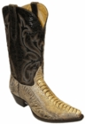 Star Boots for Men Cactus Ostrich Leg Leather Boots M9231