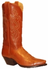 Star Boots for Women Whiskey Buffalo Calf Leather Cowboy Boots W7005