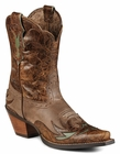 Store Special Size 5.5 Ariat Womens Dainty Brown Cognac Floral Boots 10008781