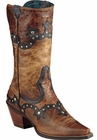 "Store Special Size 5.5 Ariat Womens Rogue Skippy Brown/Butternut Boots 10008778<Font color=""Red""> B</Font>"