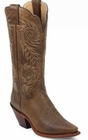 "Store Special Size 5.5 Justin Ladies Classic Western Tan Damiana L4332<Font color=""Red""> B&C</Font>"