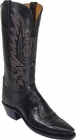 "Store Special Size 5.5 Lucchese 1883 Ladies Black Mad Dog Goat Cowgirl Boots N4559<Font color=""Red""> B</Font>"
