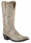 Store Special Size 5.5 Lucchese Ladies Stone Python Print Cowgirl Boots M4715