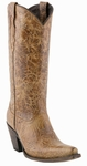 """Store Special Size 5.5 Lucchese Since 1883 Womens with """"Andrea"""" Design Autumn Dry Leaf M5711"""
