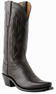 "Store Special Size 7.5 Ladies Lucchese 1883 Ranch Black Ranch Hand M5006<Font color=""Red""> B&C</Font>"