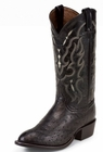 Tony Lama Boots Mens Exotic Western Cowboy Black Smooth Ostrich Boots CT871