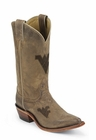 West Virginia University Mountaineers Womens Officially Licensed Boots by Nocona LDWV11