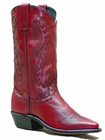Women's Abilene Western Featuring Hand Laced Accents with Genuine Leather Outsole 9002