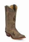 Wyoming Cowboys Womens Officially Licensed Boots by Nocona LDUW11