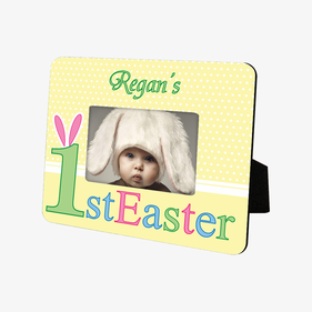 1st Easter Personalized Hardboard Picture Frame