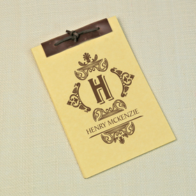 Antique Style Customized Notebook