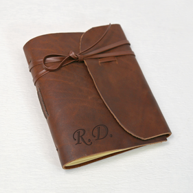 Genuine Leather-Bound Customized Journal