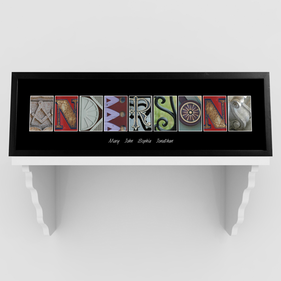 Personalized Architectural Elements III Color  Prints