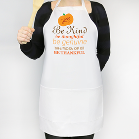Be Thankful Personalized Apron