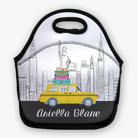 Big City Life Personalize Lunch Bag