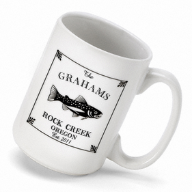 Personalized Cabin Series Mug