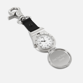 Clip On Watch With Personalized Cover