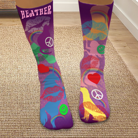Custom Magical Journey Tube Socks