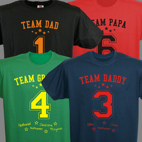 Custom Team T-shirt