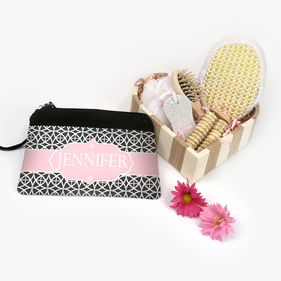 Customized Cosmetic Bag Relaxation Gift Basket