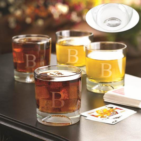 Football Personalized Glass Set