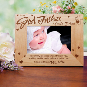 GodMother/GodFather Wood Frame
