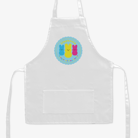Hanging With My Peeps Personalized Kids Apron