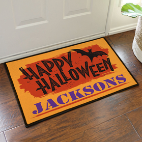 Happy Halloween Custom Doormat