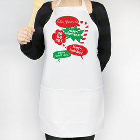 Happy Holidays Personalized Apron