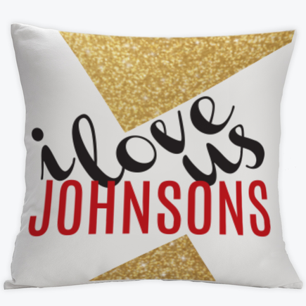 Personalized Reindeer Merry Christmas Cushion Cover
