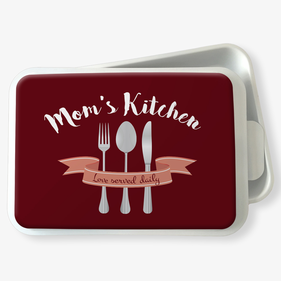 Mom's Kitchen Personalized Standard Cake Pan