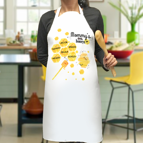 Mommy's Little Honeys Personalized Honey Bee Apron