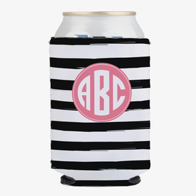 Monogram Can Beverage Holder