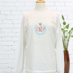 Monogram Loose Long Sleeve T-Shirt