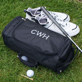 Monogrammed Golf Shoe Bag