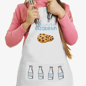 My Little Cookie Maker Custom Kids Apron