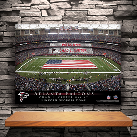 NFL Stadium Canvas Prints