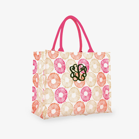 Personalized Amy Pink Market Tote
