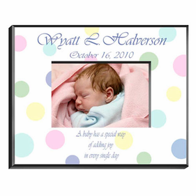Personalized Baby Frames