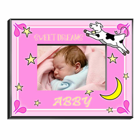 Personalized Baby Girl Picture Frames