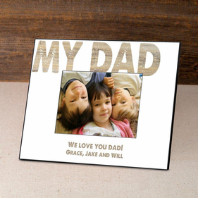 Personalized Barnwood Father's Day Frame