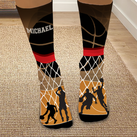 Personalized Basketball Tube Socks