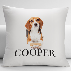 Personalized Beagle Decorative Cushion Cover