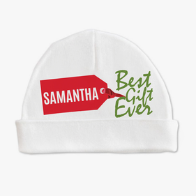 Personalized Best Gift Ever Baby Cap