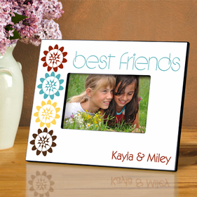 Personalized Flower Picture Frame