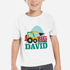 Personalized Big Brother T-Shirt for Boys