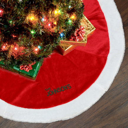 Your very own personalized big christmas tree skirt this will be the