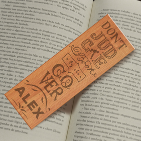 Personalized Don't Judge A Book By Its Cover Bookmark