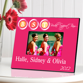 Personalized Bridal  Picture Frame
